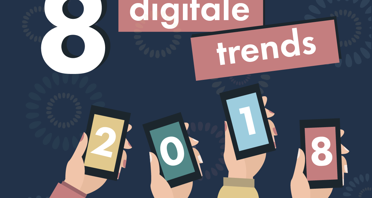 8 Digitale Trends i 2018