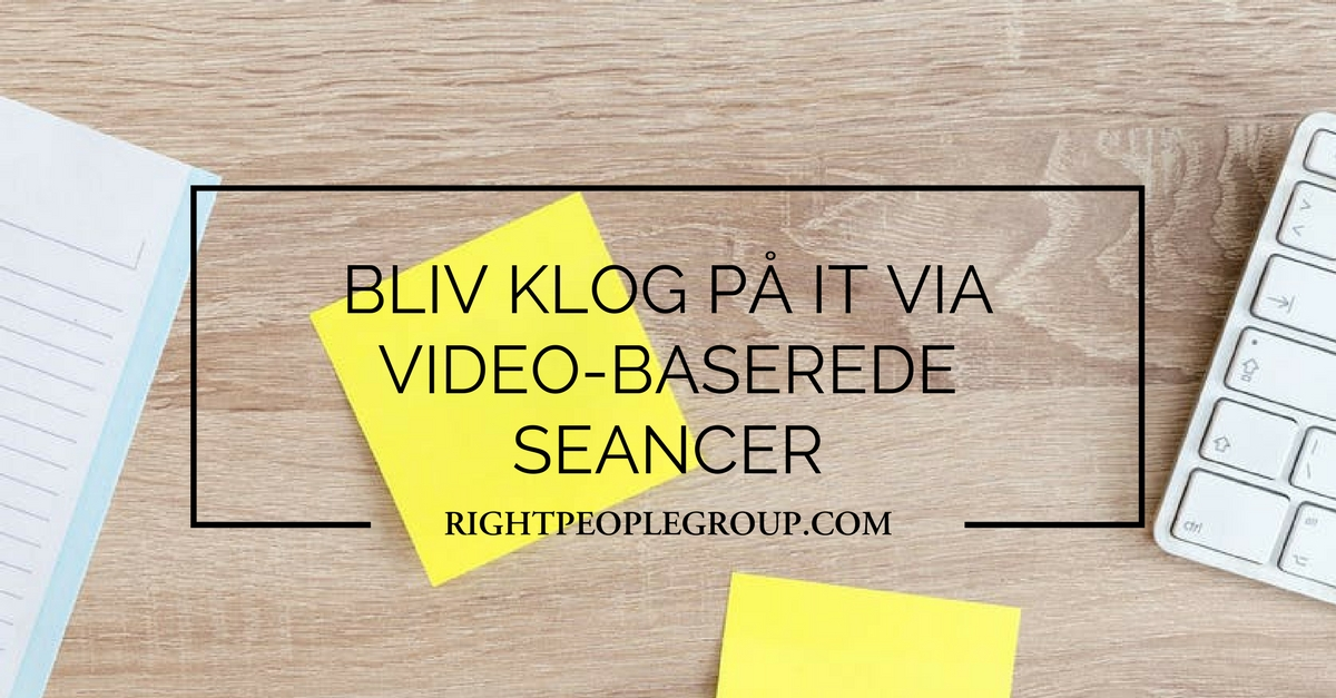Boost din viden om IT via video-baserede sessioner